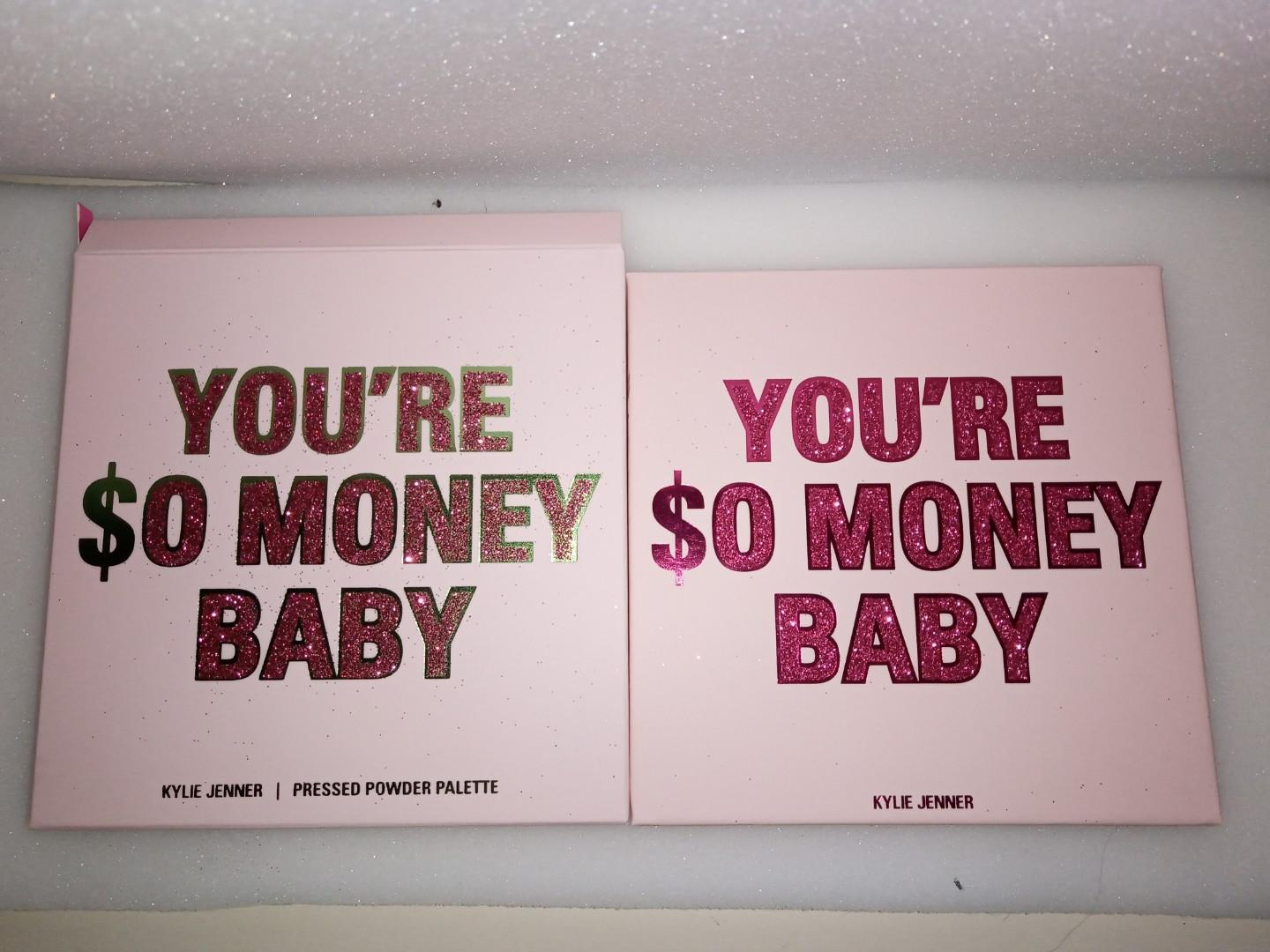 Kylie cosmetics - your so money baby eyeshadow palette.