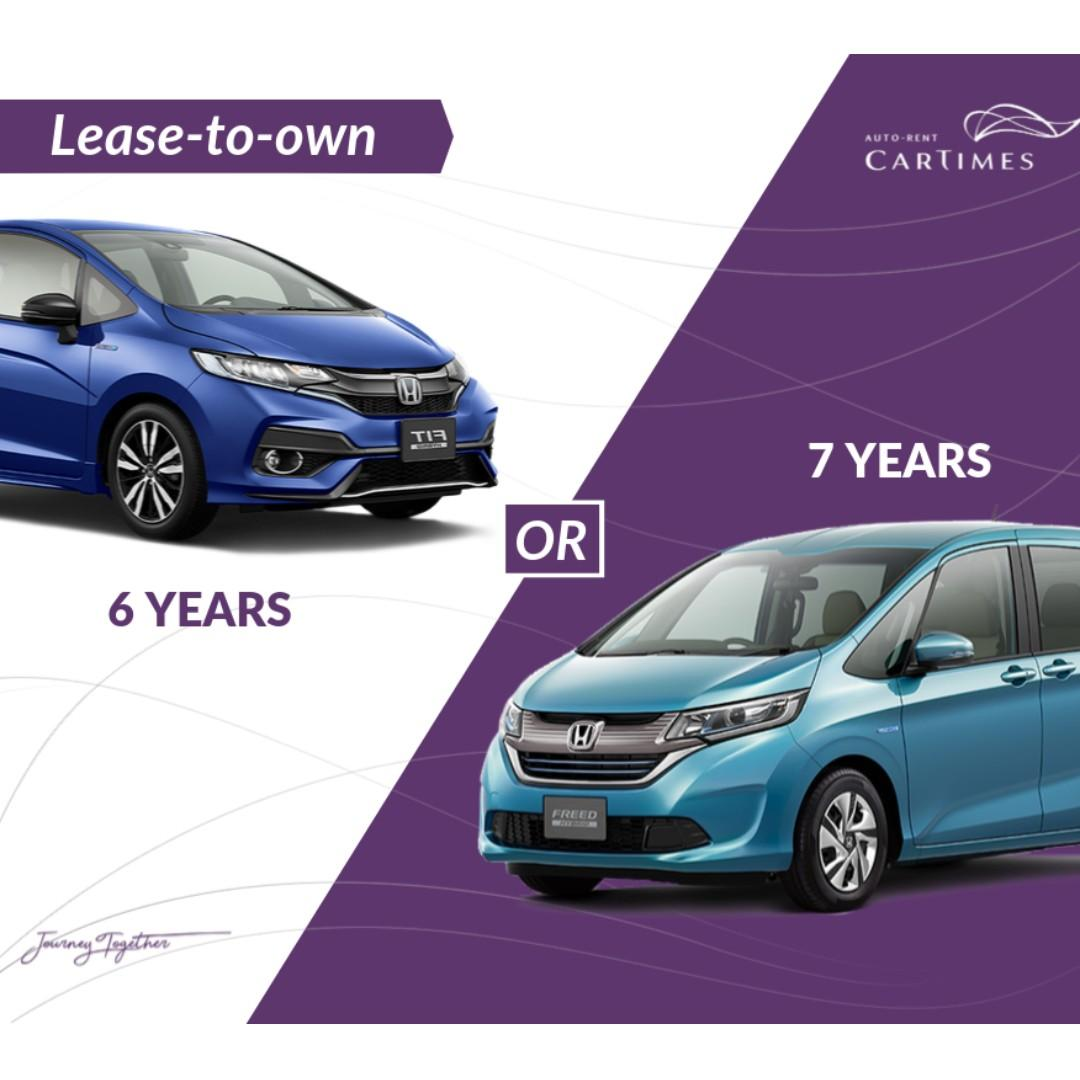 Lease to Own (Car Rental)