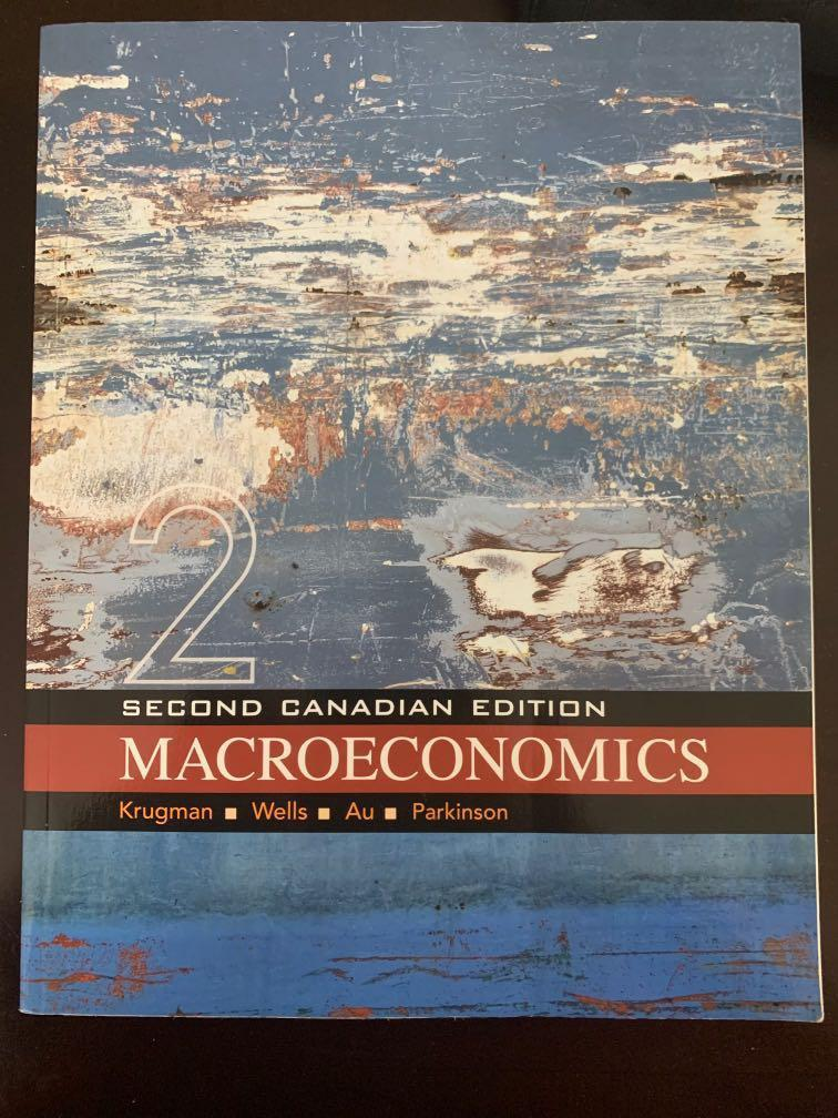 Macroeconomics Third Canadian edition study guide by Elizabeth Sawyer Kelly