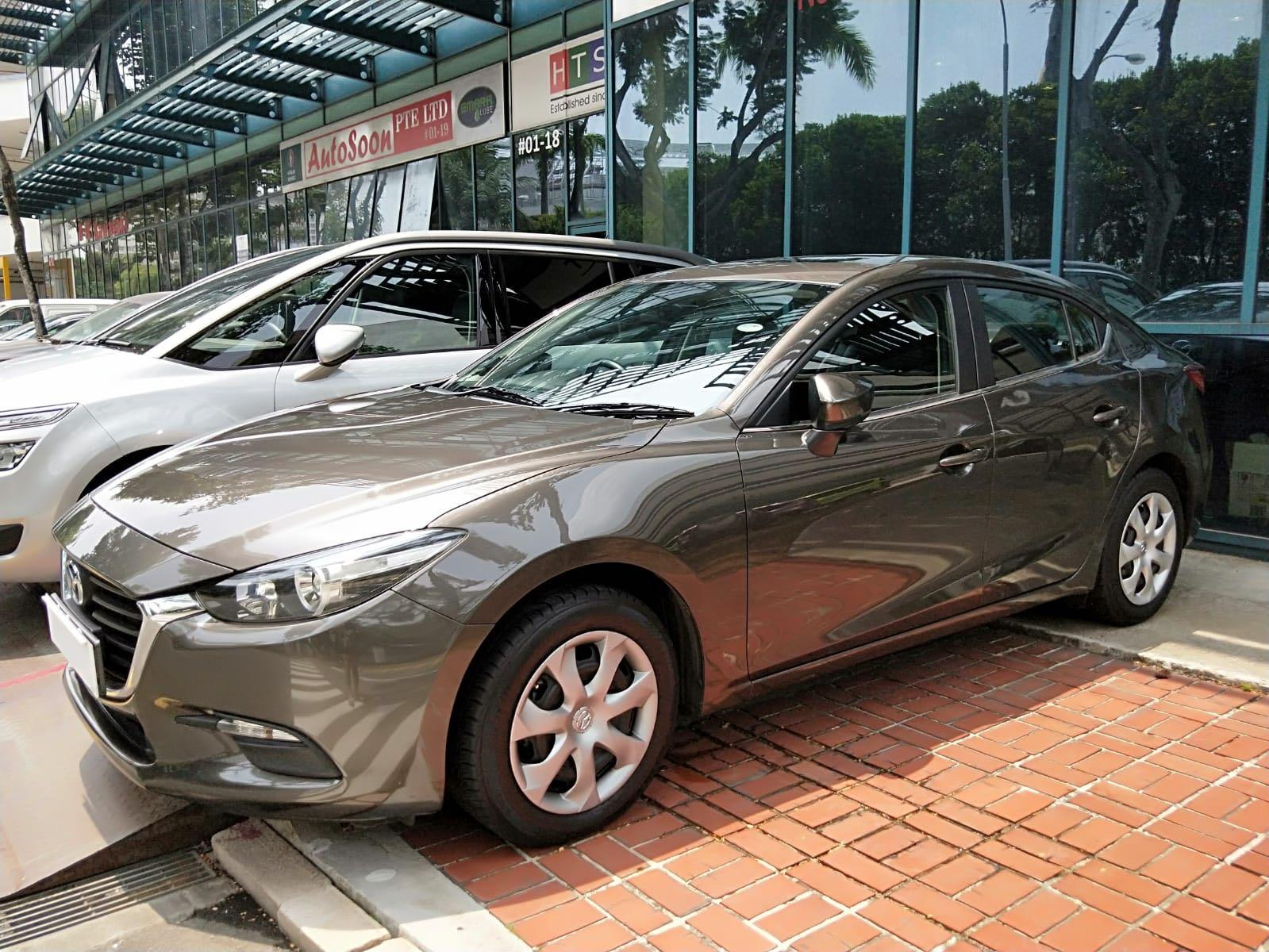 Mazda 3 1.6A (minimum 6 month contract)