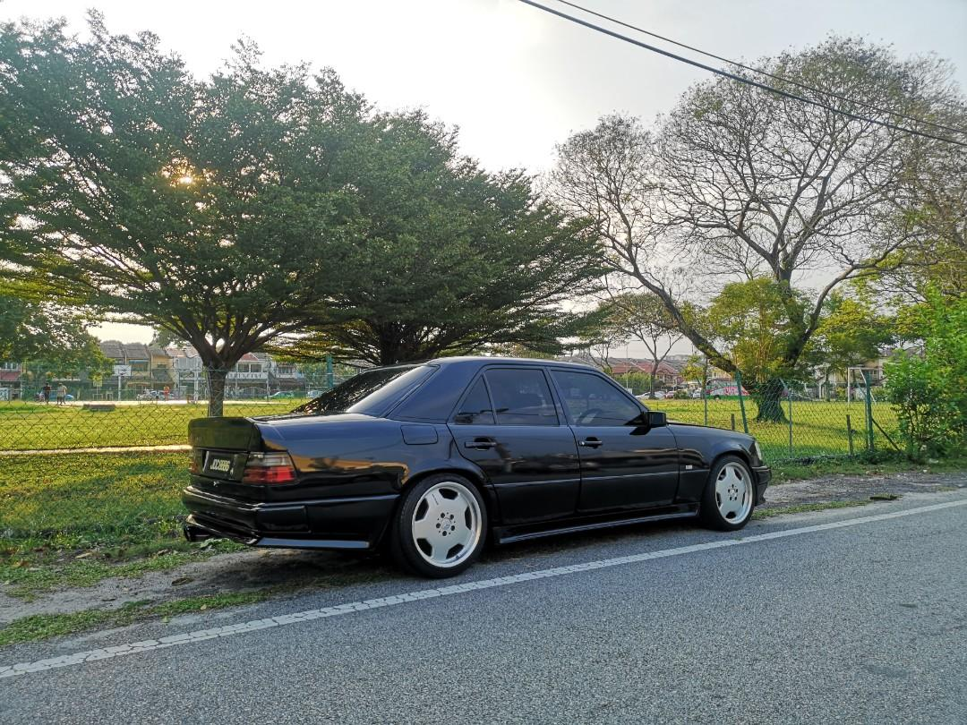 Mercedes Benz w124 AMG Twin Turbo