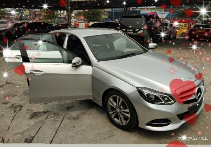 MERCEDES E250 CGI 2.0  7-Speed onthe road Price RM179,888.88 RECON