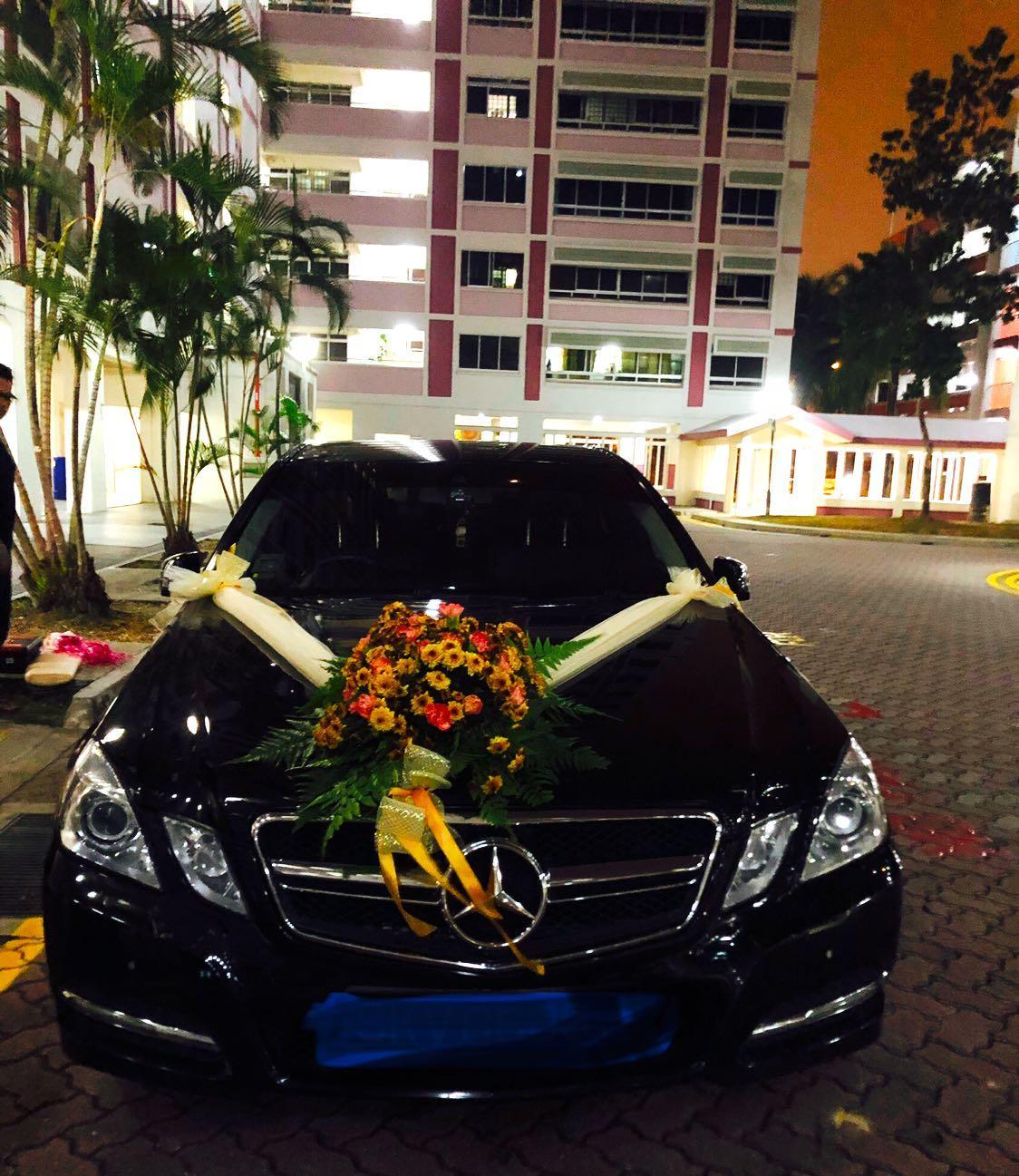 Mercedes E250 Wedding Car Rental