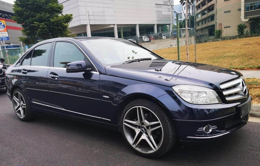 Mercedes-Benz C180K for rental!