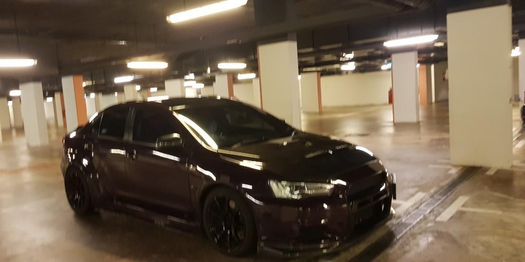 Mitsubishi Evolution X SST Auto