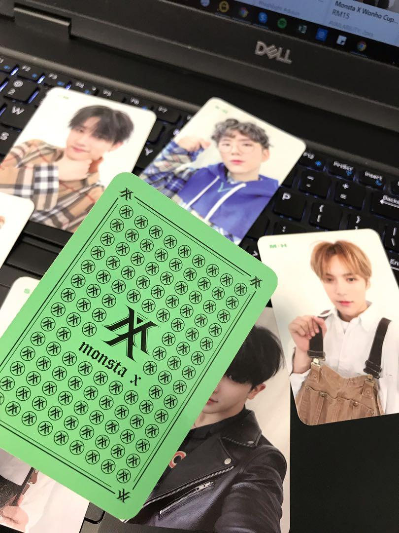 Official Monsta X The Connect Limited Edition (Pre-Order Only) Photocard Set