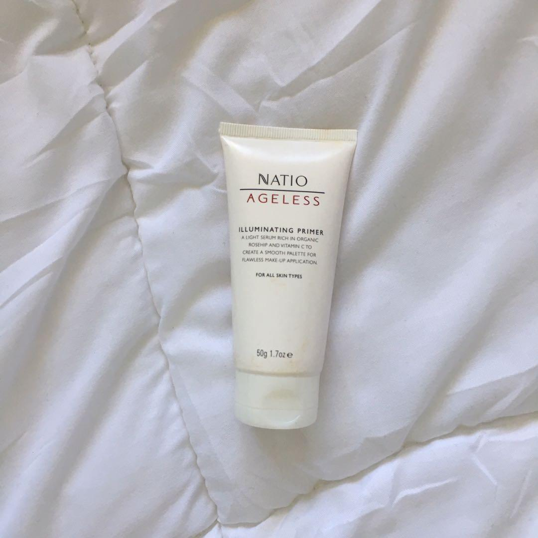 Natio illuminating face primer