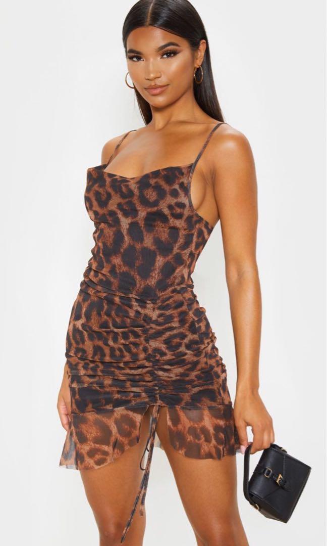 PLT Leopard Print Dress