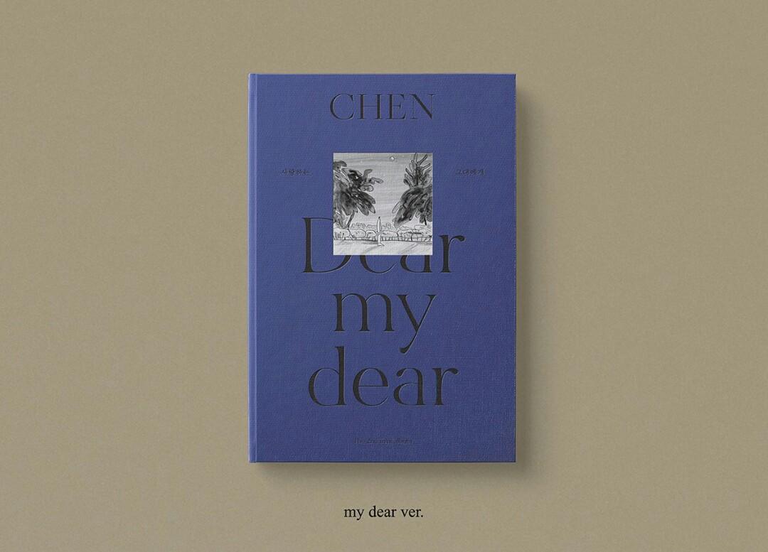 {Pre-Order - SEALED}CHEN The 2nd Mini Album 'Dear my dear'