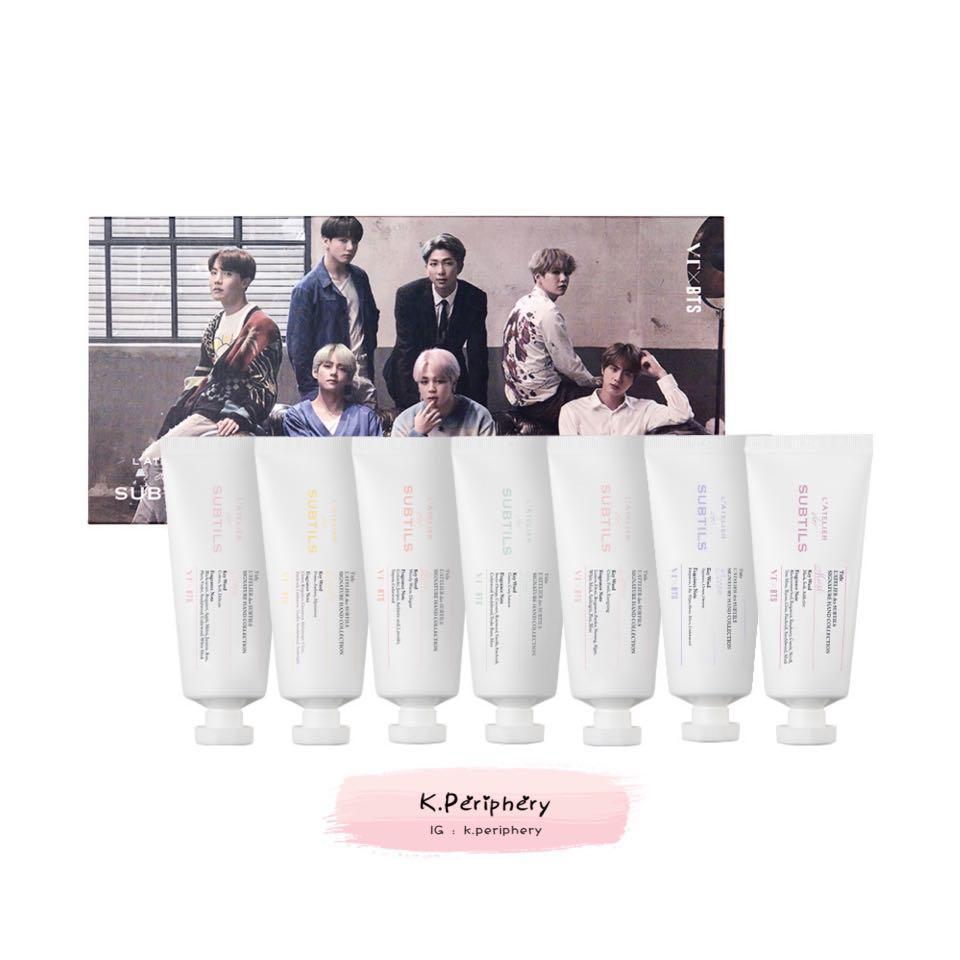 BTS x VT L'Atelier des Subtils Hand Cream