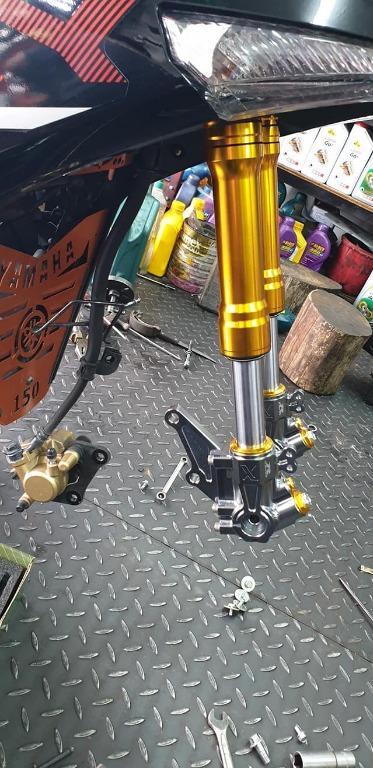Rapido| USD Fork Gold | Y15ZR & RS150R | 100% Original