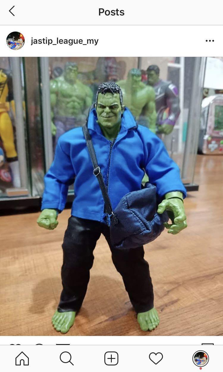 [Ready Stock] Custom Marvel Legends Smart Hulk BAF - Avengers End Game