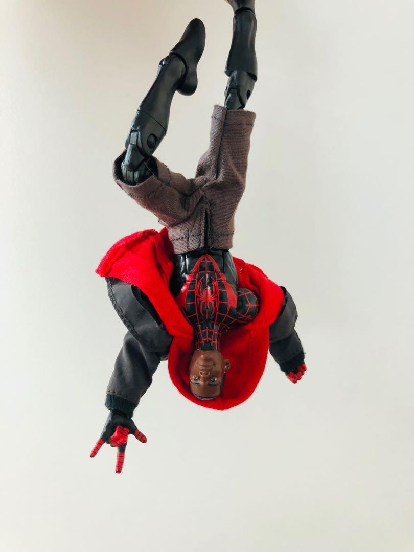 [Ready Stock] Custom Suit Marvel Legends Miles Morales - Spiderman Spiderverse