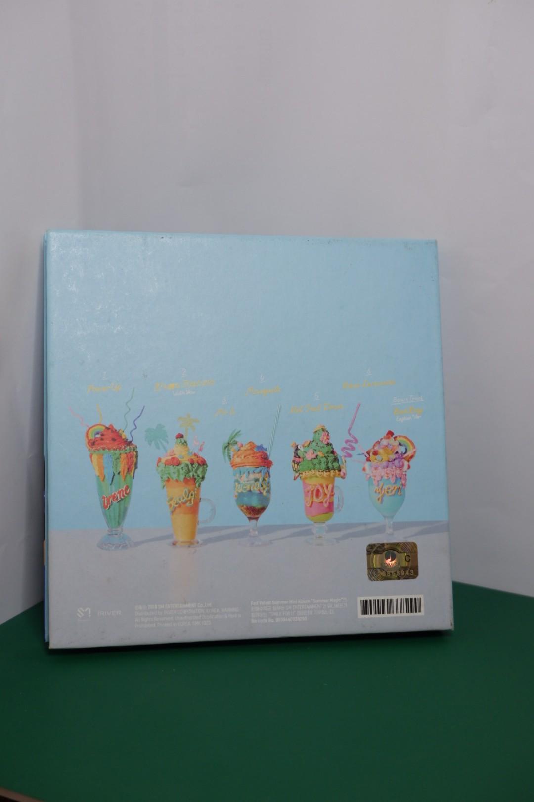 RED VELVET 'SUMMER MAGIC' NORMAL EDITION (ALBUM ONLY)