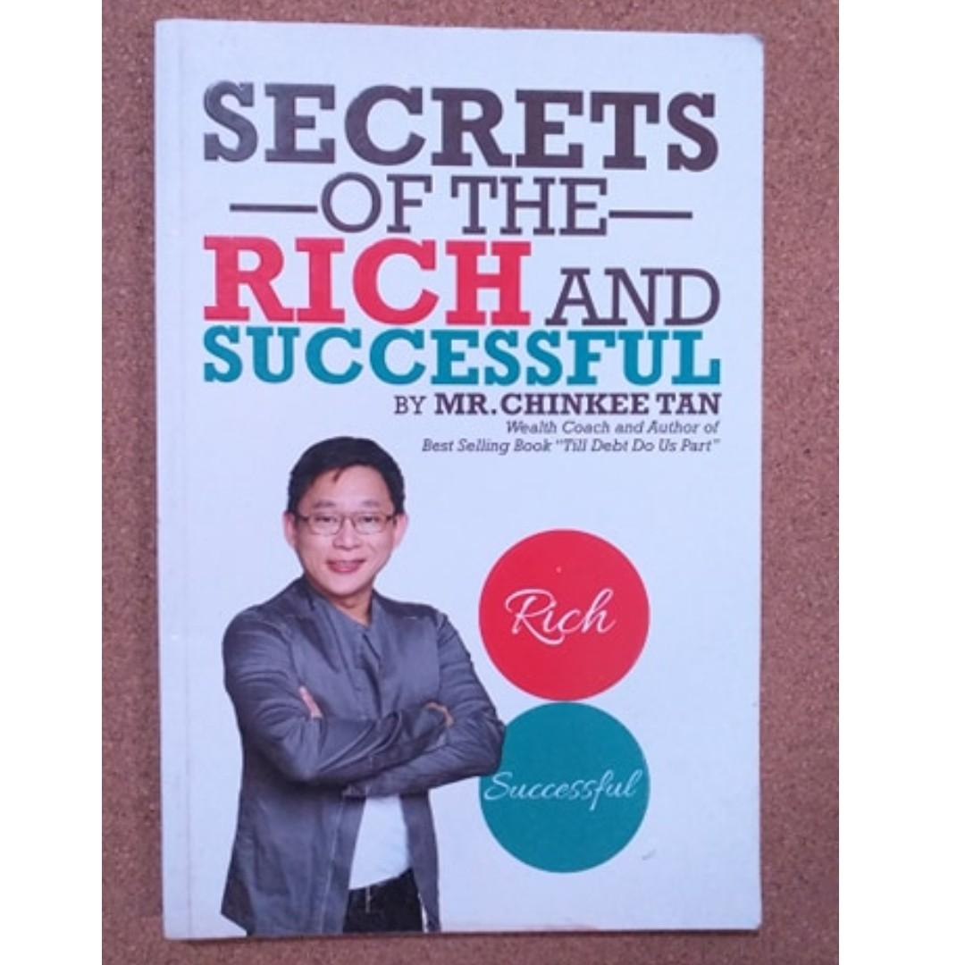 Secrets of the Rich and Successful (Chinkee Tan) / Personal Development and Self Help Books