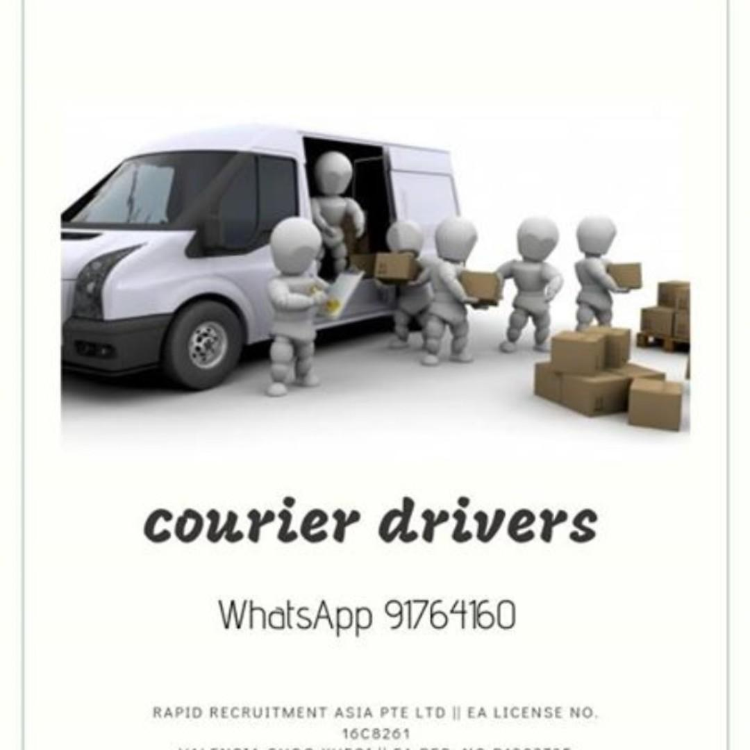 Security Courier Drivers @ East (PLRD req!)