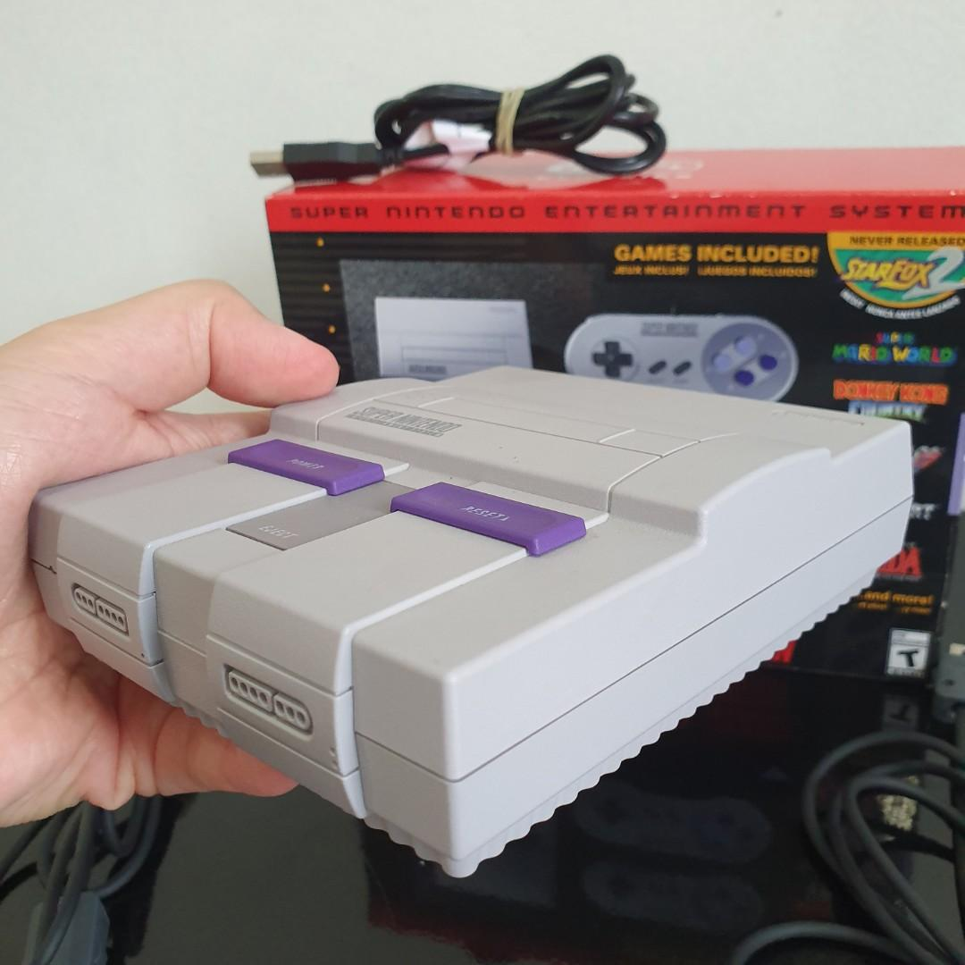 SNES Classic Edition 2nd Mulus