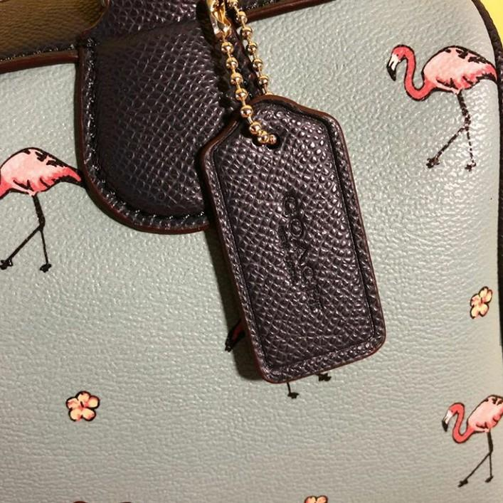 SPECIAL PRICE! LIMITED STOCK  COACH MINI BENNETT FLAMINGO - Navy