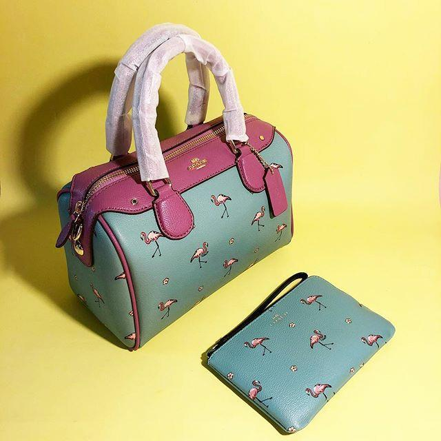 SPECIAL PRICE! LIMITED STOCK  COACH MINI BENNETT FLAMINGO - PINK