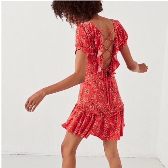 Spell & the Gypsy Collective Celestial Mini Dress (S) RRP $199