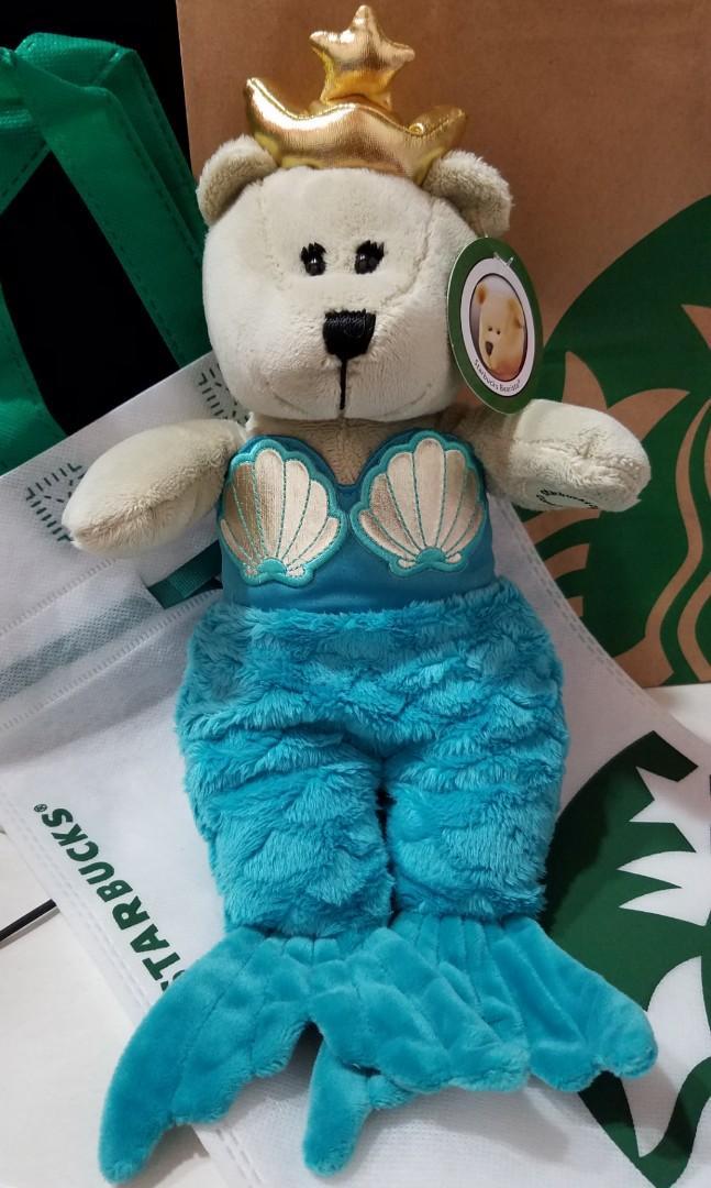 Starbucks Mermaid Bear💜