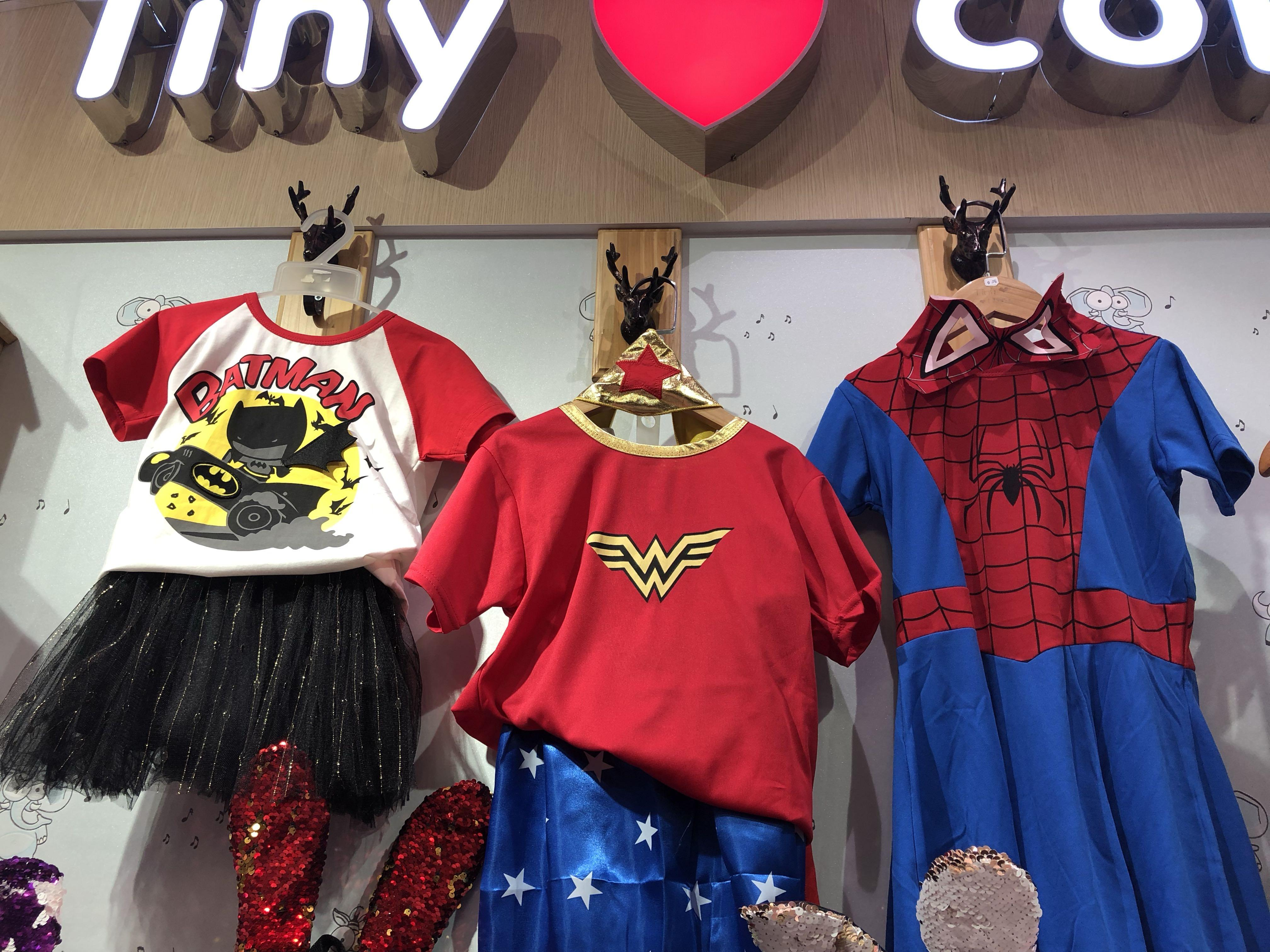 Super hero costume for girls (children's day costume )