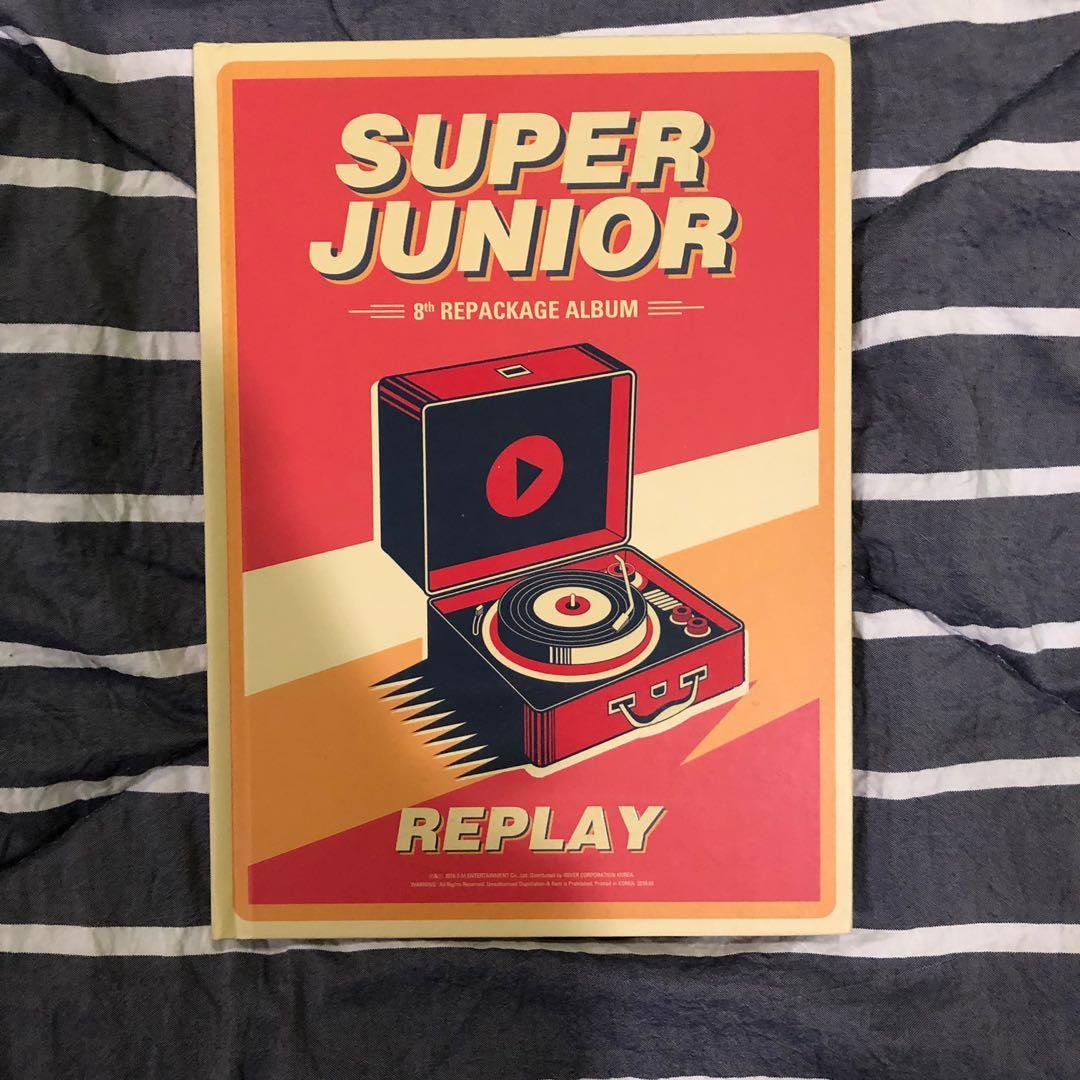 Super Junior - Replay Album Repackage [Vol.8]