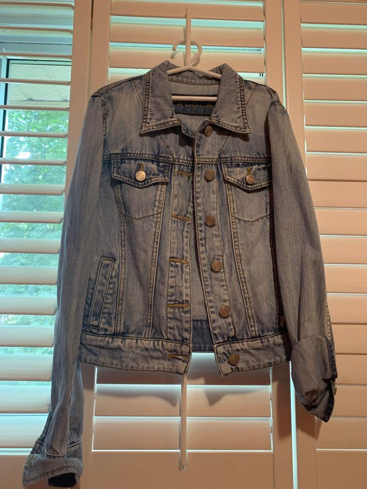 Talula Aritzia Denim Jacket - size S (fitted style)