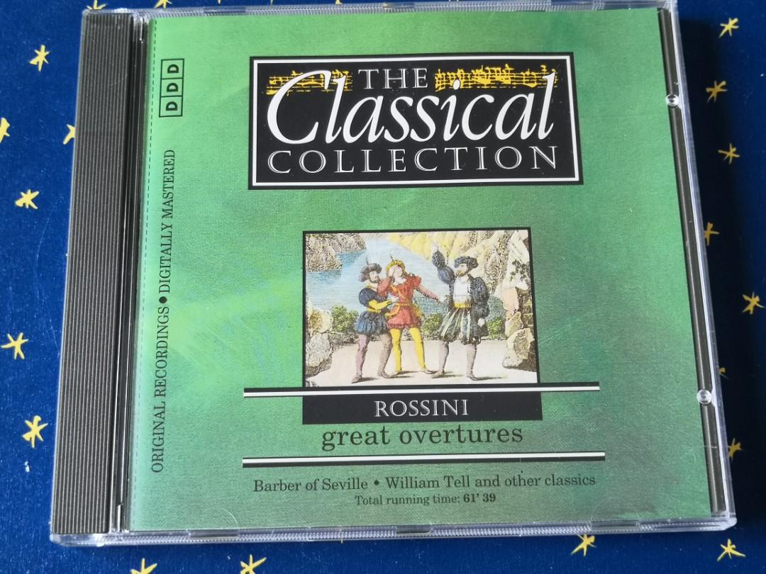THE Classical COLLECTION 33 ROSSINI great Overtures classical music CD