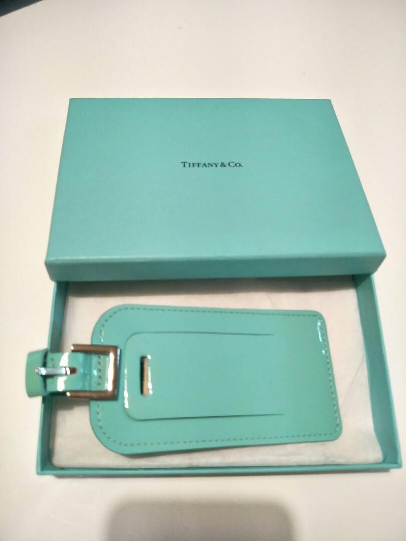 Tiffany & Co Luggage Tage