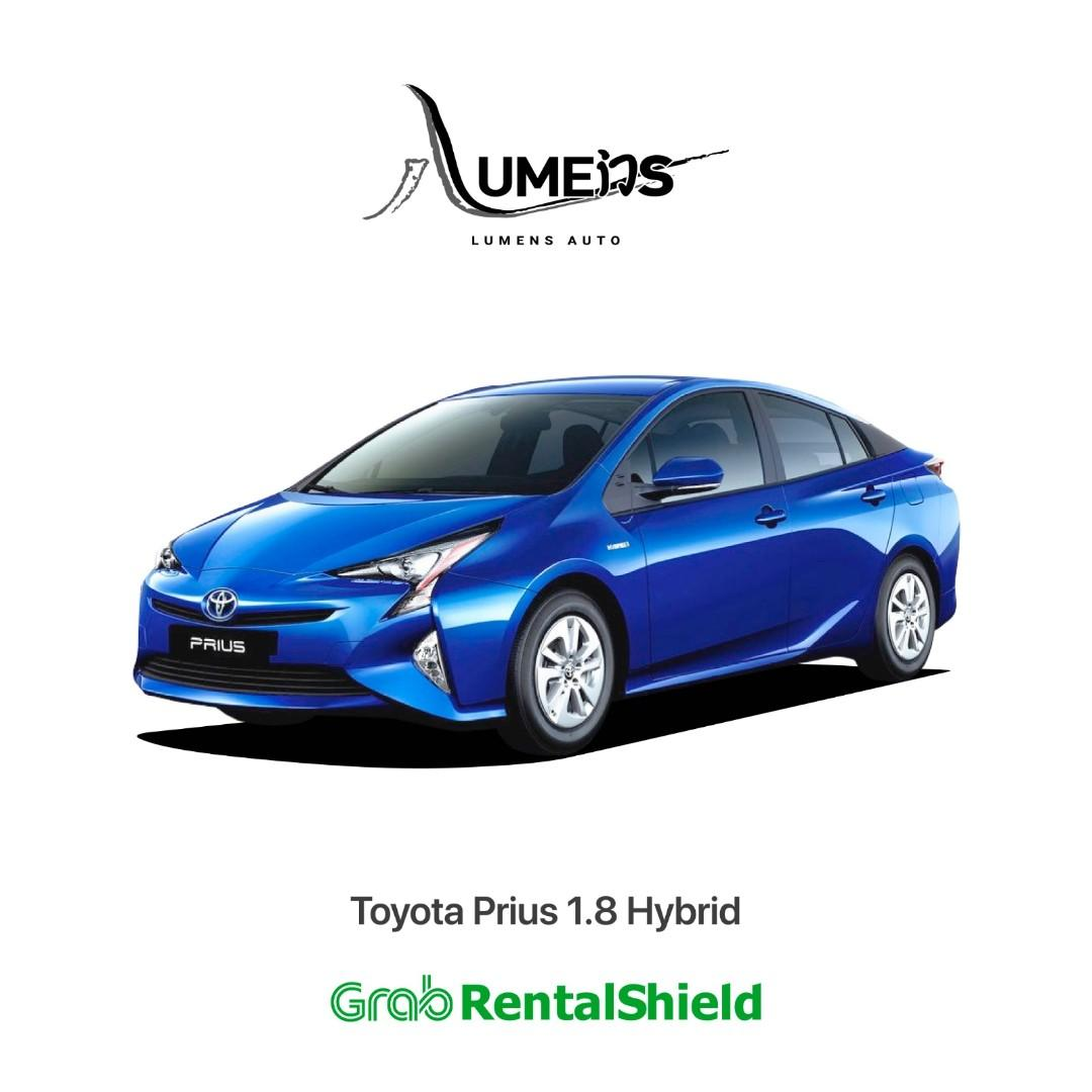 Toyota Prius S Hybrid - Car Rental for Private Hire/Grab use