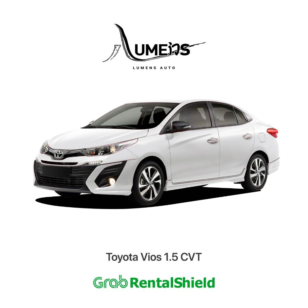 Toyota Vios CVT - Car Rental for Private Hire/Grab use