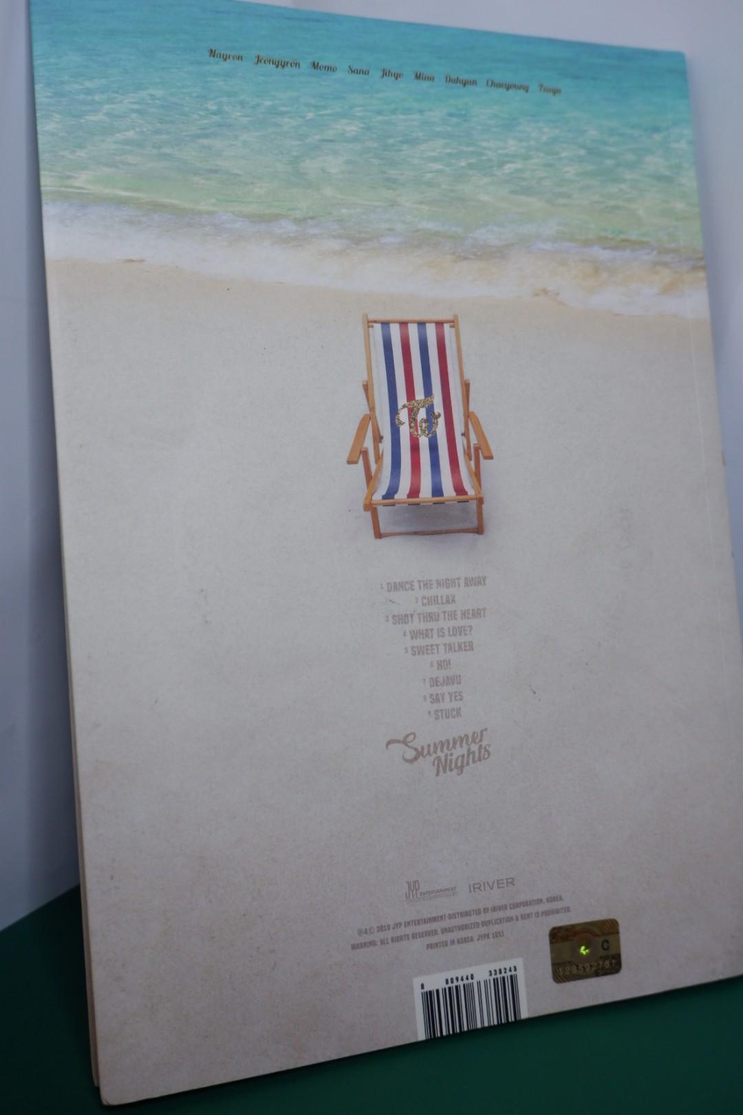 TWICE 'SUMMER NIGHTS' B VERSION JONGYEON (ALBUM ONLY)