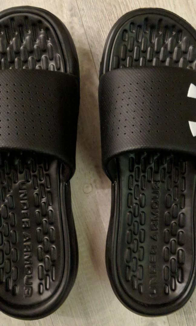 Under Armour Slippers, Men's Fashion