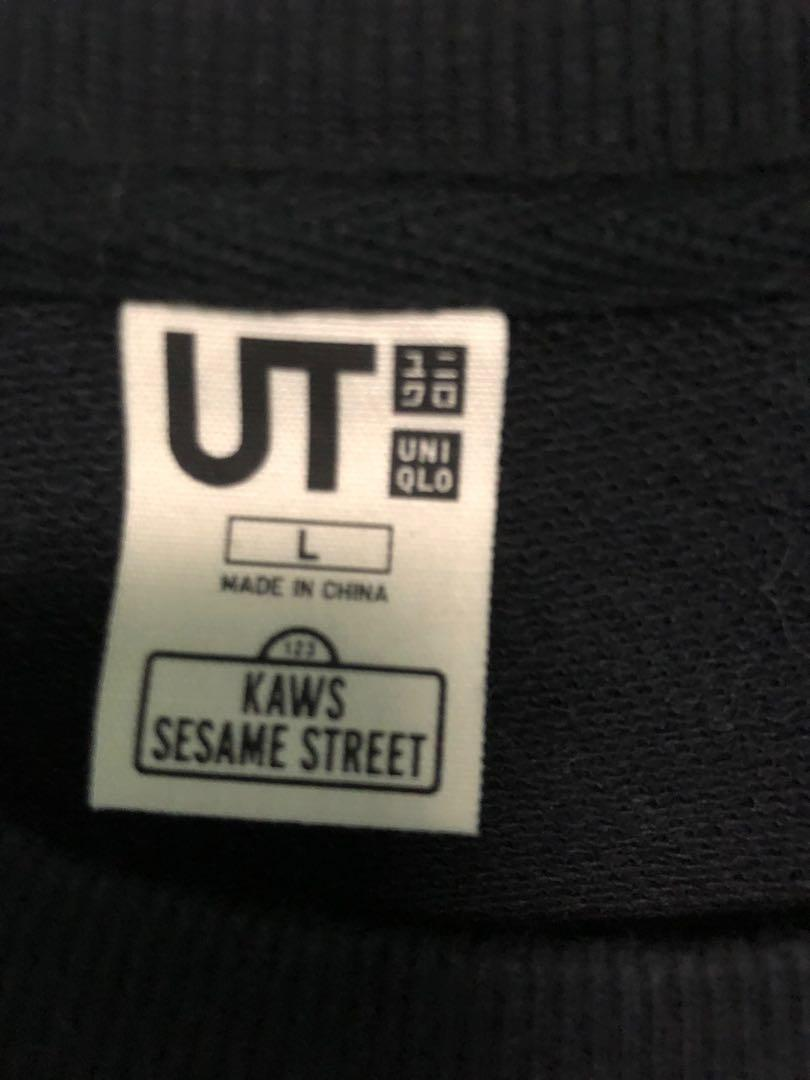 Uniqlo Kaws Sesame Street