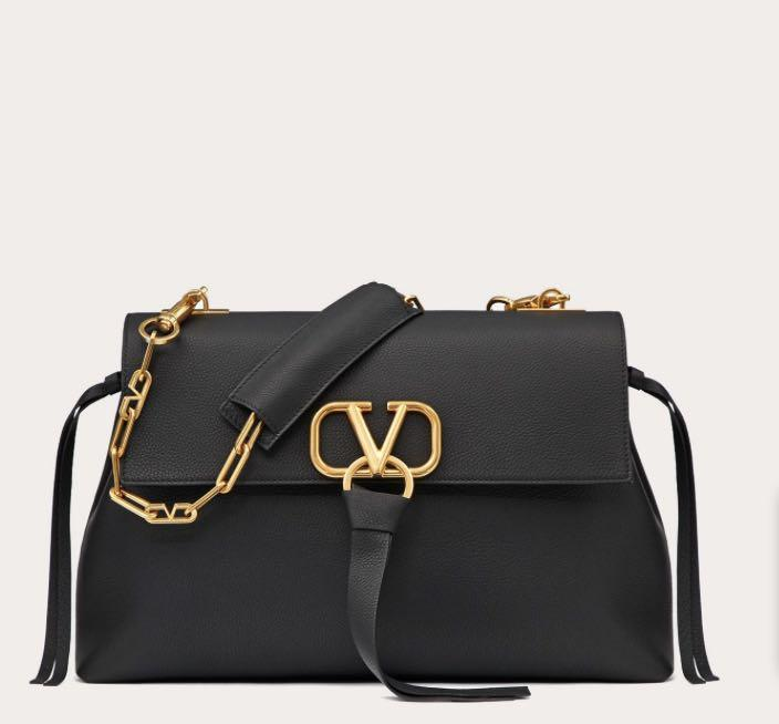 VALENTINO  VRing medium top handle bag