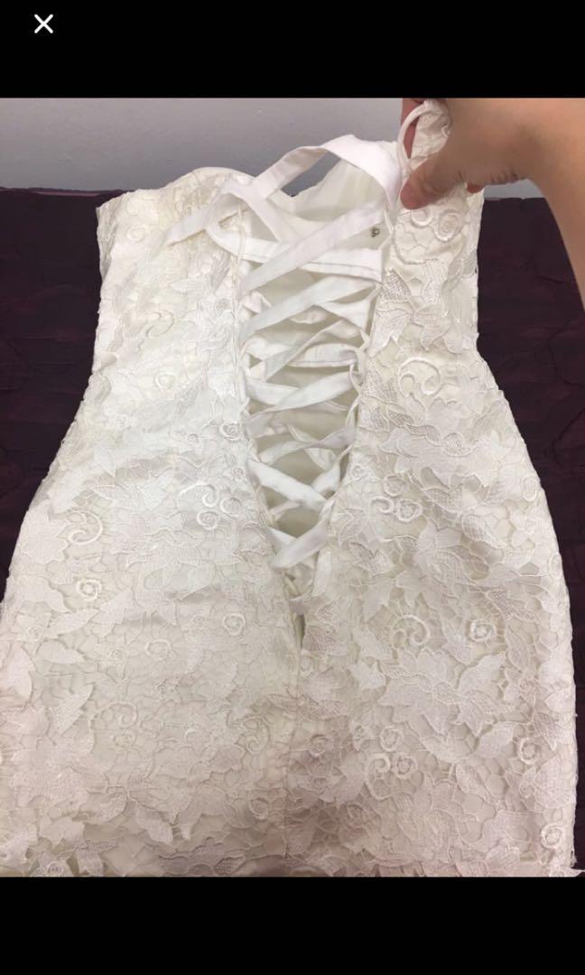 Wedding Dress or Dinner clothes $25