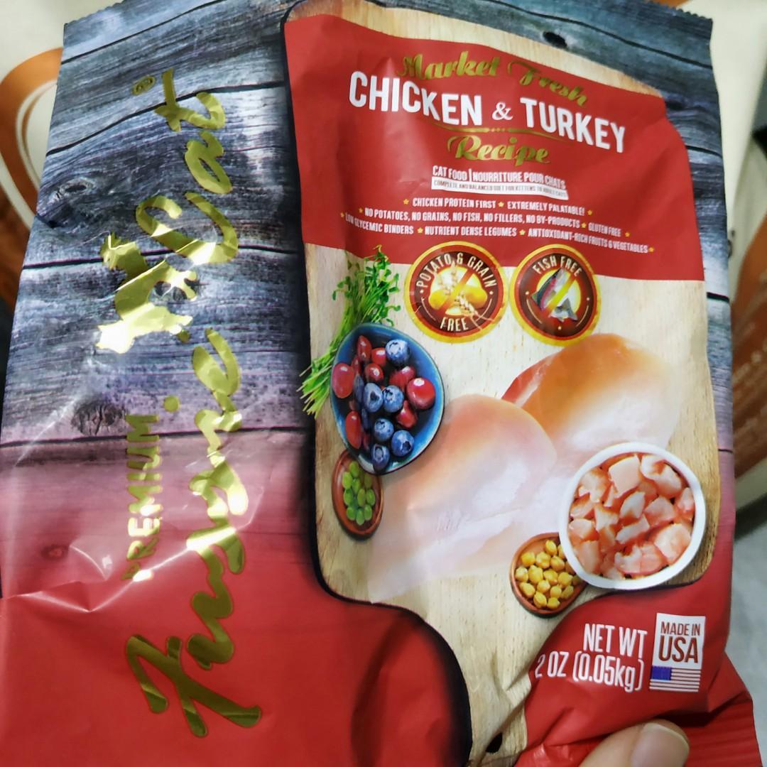 Wellness 貓糧 CORE 火雞拼雞肉配方 (11磅) 無穀