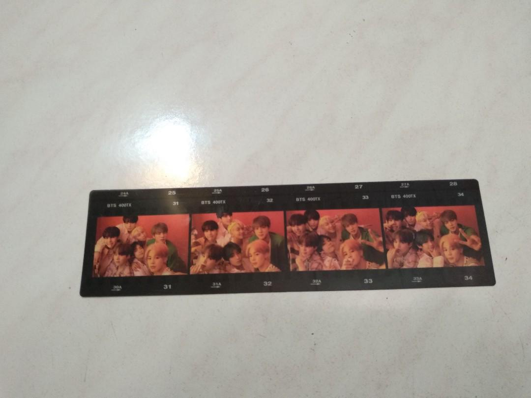WTS OFFICIAL BTS MAP OF THE SOUL PERSONA FILMSTRIP