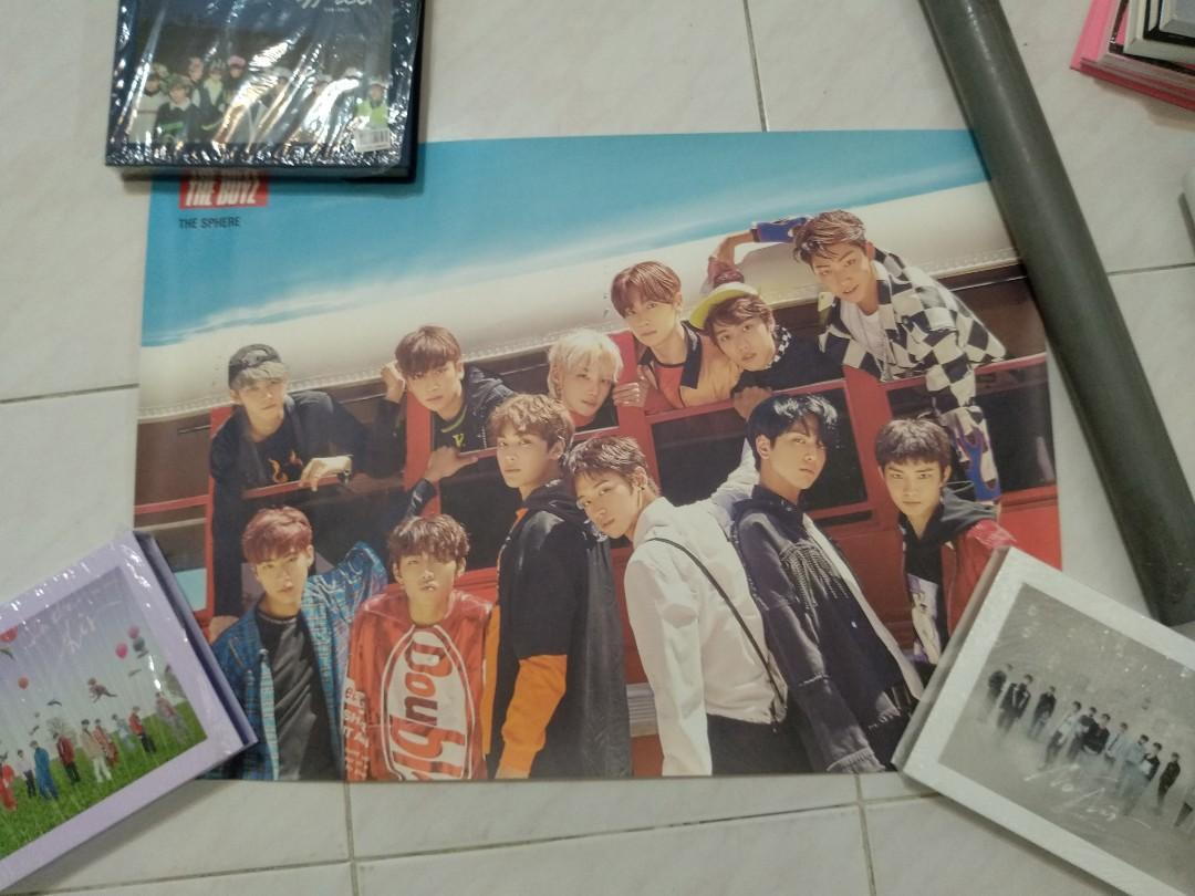 WTS OFFICIAL THE BOYZ THE SPHERE REAL VERSION POSTER