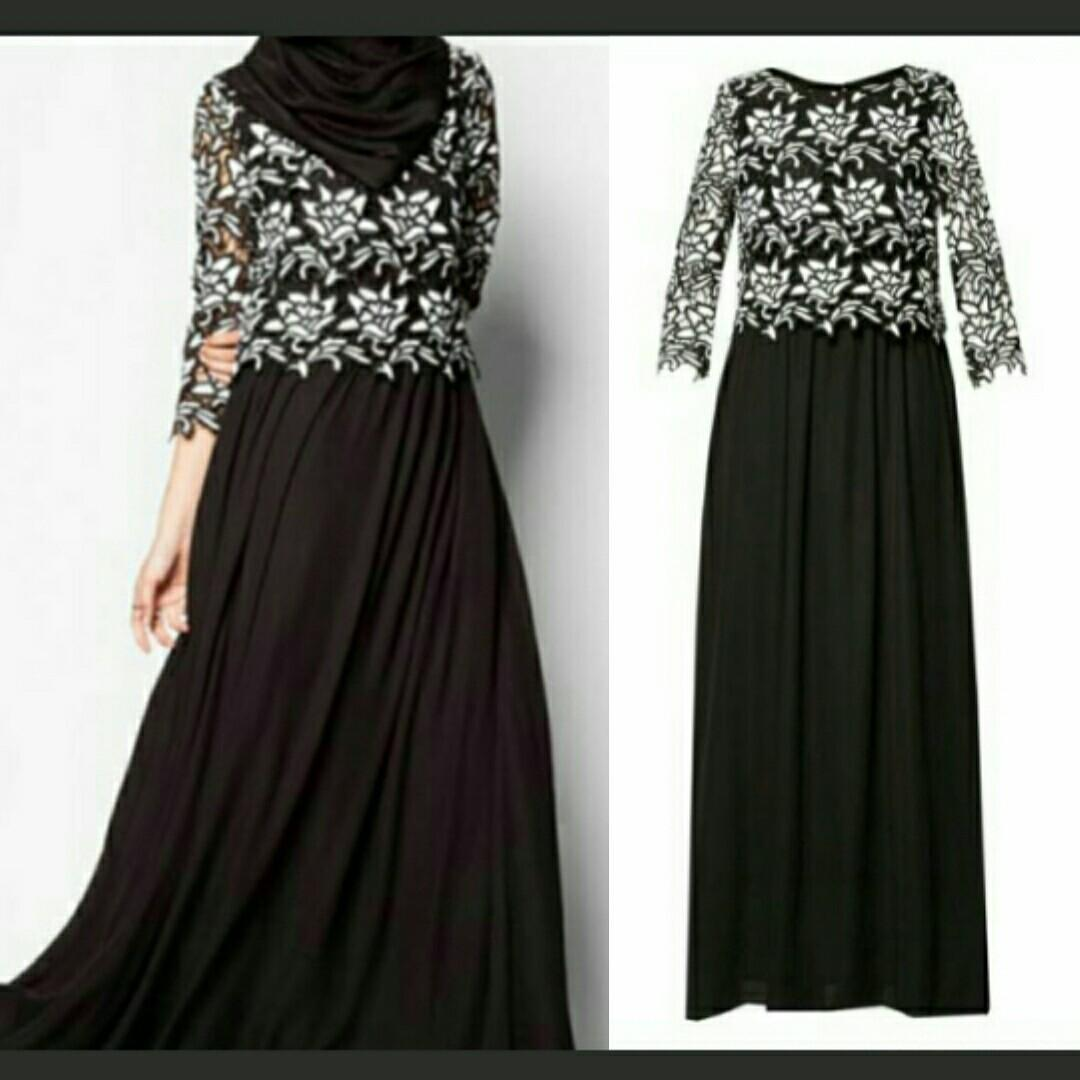 Zalia long dress lace #joindesember