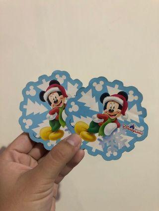Disneyland Sticker Original