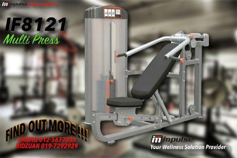Gym Equipment - IMPULSE IF8121 Multipress