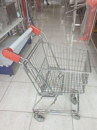 Trolley Supermarket 30 liter Preloved