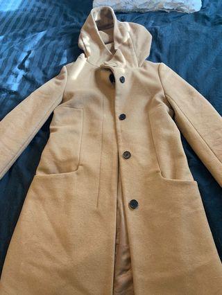 Aritzia - brown babaton trench coat