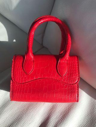 SALE Red Jacquemus mini bag