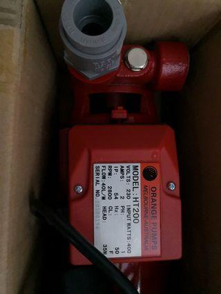 Orange Pump HT200 0.5hp from Australia