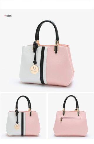 Korean Pink Tote Bag
