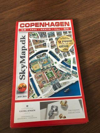 Copenhagen latest map