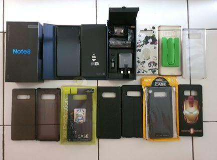 Samsung Note 8 256 GB Sangat mulus